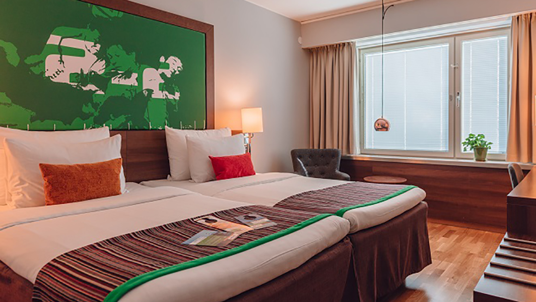 Rabatt på hotellvistelse hos Park Inn