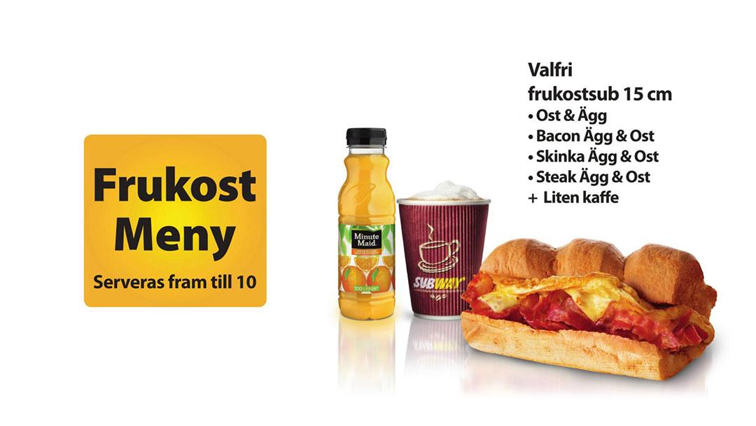 Frukost hos Subway