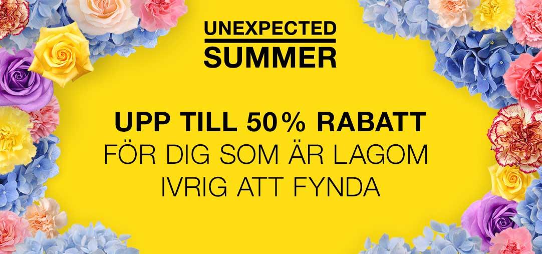 Sommarrea i Täby Centrum