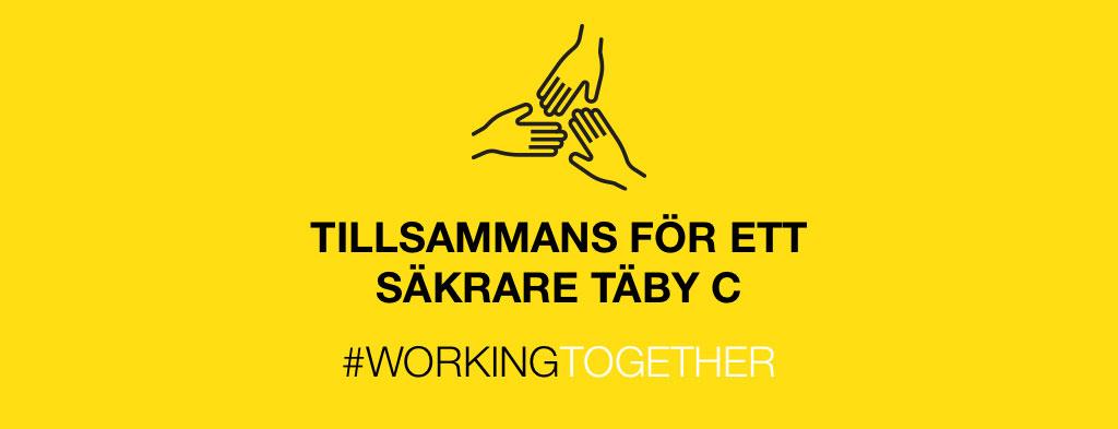 #workingtogether - Täby Centrum