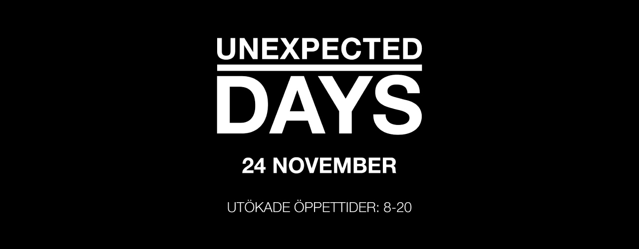 Unexpected days