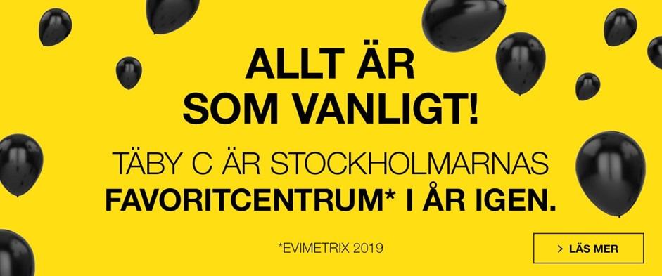 Täby Centrum Stockholmarnas favorit