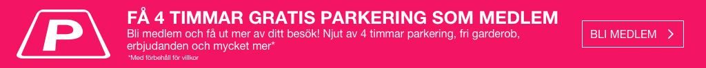 Få fyra timmars gratis parkering