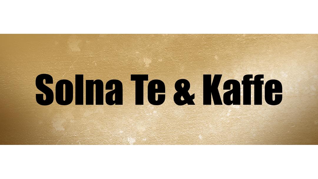 Erbjudande: Solna Te & Kaffe