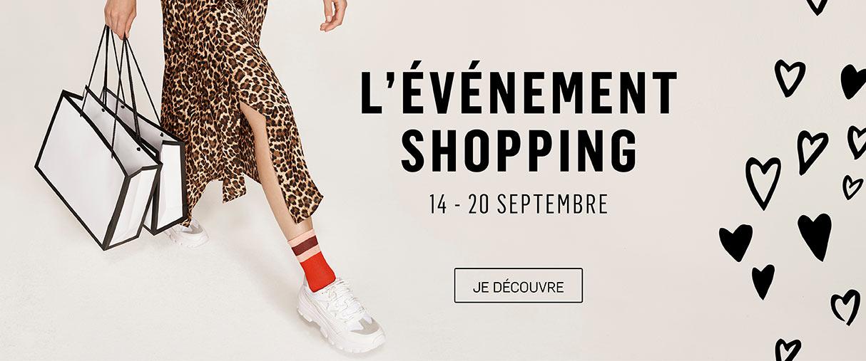 evenement shopping